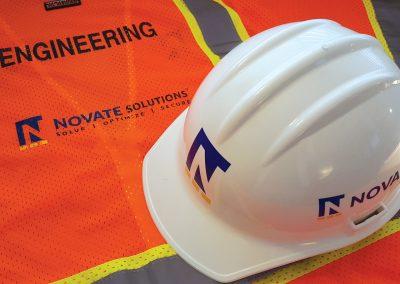 Corporate Design | Safety Gear | Novate Solutions | West Sacramento
