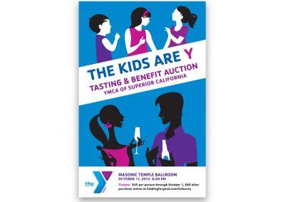 Corporate Design | Events | YMCA Poster | Sacramento