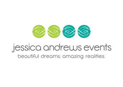 Corporate Design | Logos | Jessica Andrews Events | Folsom