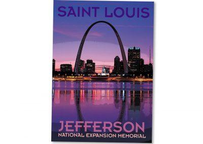 Corporate Design | Postcard | Jefferson National Expansion Memorial | Missouri