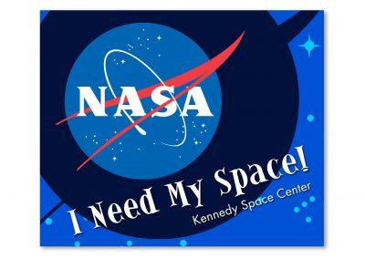 Corporate Design | Postcard | Kennedy Space Center | Florida