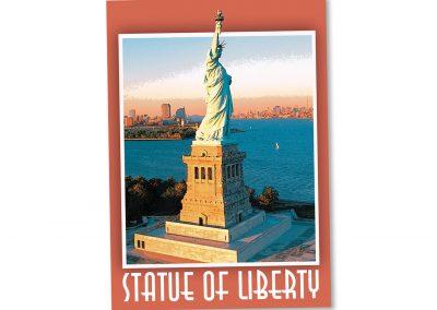 Corporate Design | Postcard | Statue of Liberty | New York