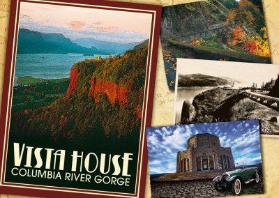 Corporate Design | Postcard | Vista House – Columbia River Gorge | Oregon