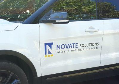 Corporate Design | Vehicle Graphics | Novate Solutions | West Sacramento