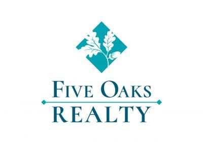 Corporate Design | Logos | Five Oaks Realty | Folsom