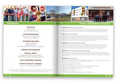 Corporate Design | Events | State of the City Program – Inside | West Sacramento