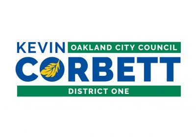 Political Design | Candidate Logos | Kevin Corbett | Oakland