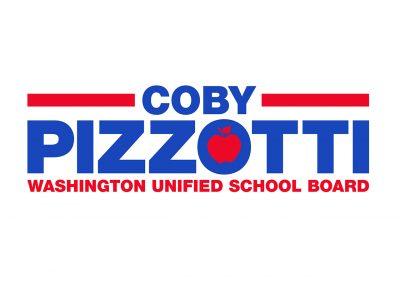 Political Design | Candidate Logos | Coby Pizzotti | West Sacramento