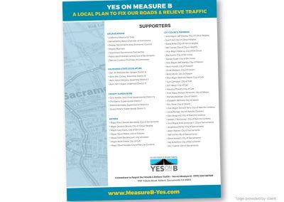 Political Design | Endorsement List | Yes on Measure B | Sacramento
