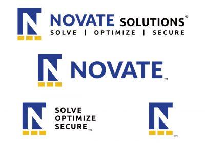 Corporate Design | Logos | Novate Solutions | West Sacramento